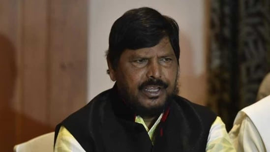 Union minister Ramdas Athawale said that the recent incidents had adversely affected the morale of the Maharashtra Police. (HT File)
