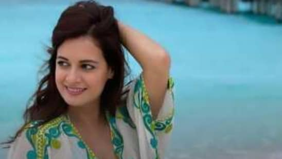 Actor and producer Dia Mirza is in the Maldives. Source: Instagram/diamirzaofficial