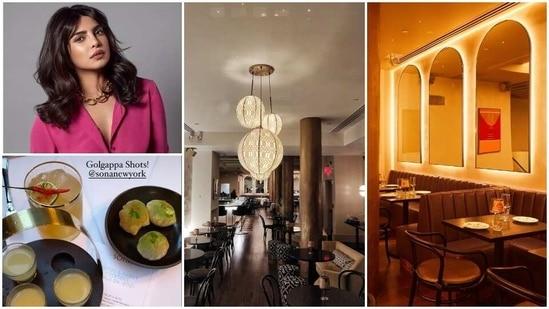 Priyanka Chopra's New York restaurant Sona serves interesting food and boasts of stunning interiors.