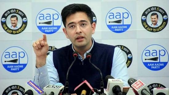 Aam Aadmi Party leader Raghav Chadha(ANI)
