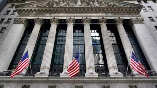 The New York Stock Exchange is seen in New York. Stocks are opening higher on Wall Street at the end of an up-and-down week, led by gains in banks and energy companies. The index was up 0.5% early Friday, March 26, 2021. (AP)