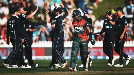 New Zealand players celebrate(ICC/Twitter)
