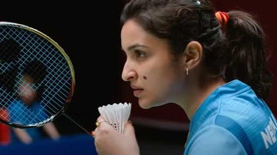 Parineeti Chopra in and as Saina.
