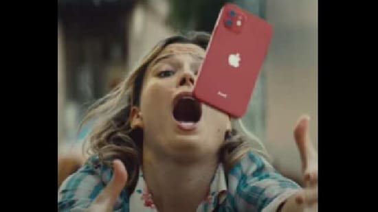 The image is a screengrab from the video.(YouTube/@Apple)