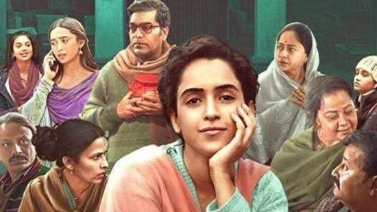 Pagglait review: Sanya Malhotra is joined by a stellar cast in Pagglait.