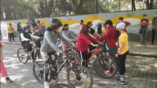 This school is helping to boost the participation of women in the city's cycling community, alongside providing them a safe environment on the streets of Bengaluru.