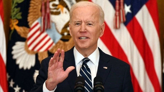 Joe Biden kept his campaign pledge to rejoin the Paris climate agreement on his first day in the White House, after Trump pulled out of the deal.(AFP)