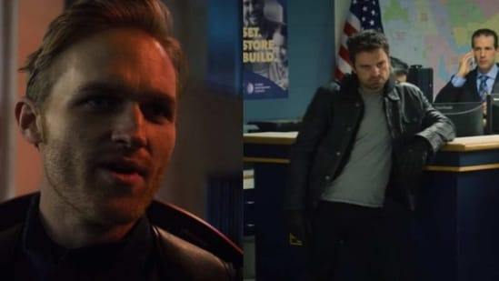 New Captain America, John Walker, and Bucky Barnes in The Falcon and The Winter Soldier episode 2.