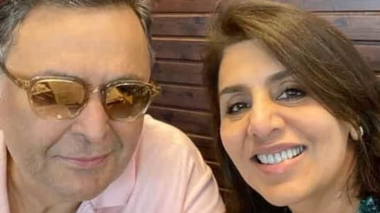 Neetu Kapoor had posted this picture in March last year, a month before Rishi Kapoor's death.