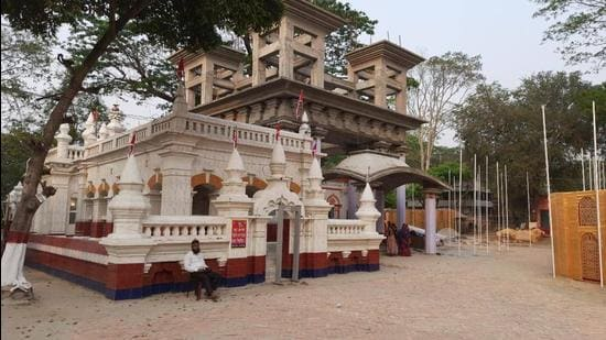The Orakandi thakurbari in Bangladesh. (Sourced)