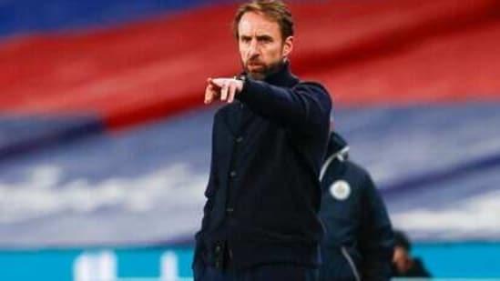 England head coach Gareth Southgate(AP)