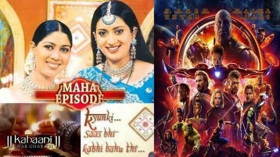 Ekta has shared a meme about an old Kahaani Ghar Ghar Kii and Kyunki Saas Bhi Kabhi Bahu Thi crossover episode.