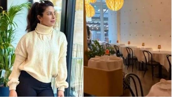 Priyanka Chopra had to miss her restaurant's grand opening as she's in London.