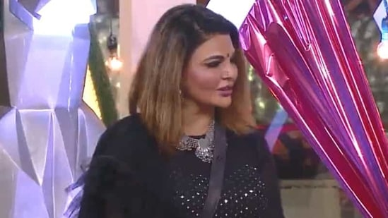 Rakhi Sawant continues to talk about her husband on the show.
