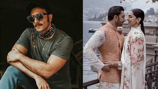 Ranveer Singh's biceps earned a praise from Deepika Padukone on Instagram.
