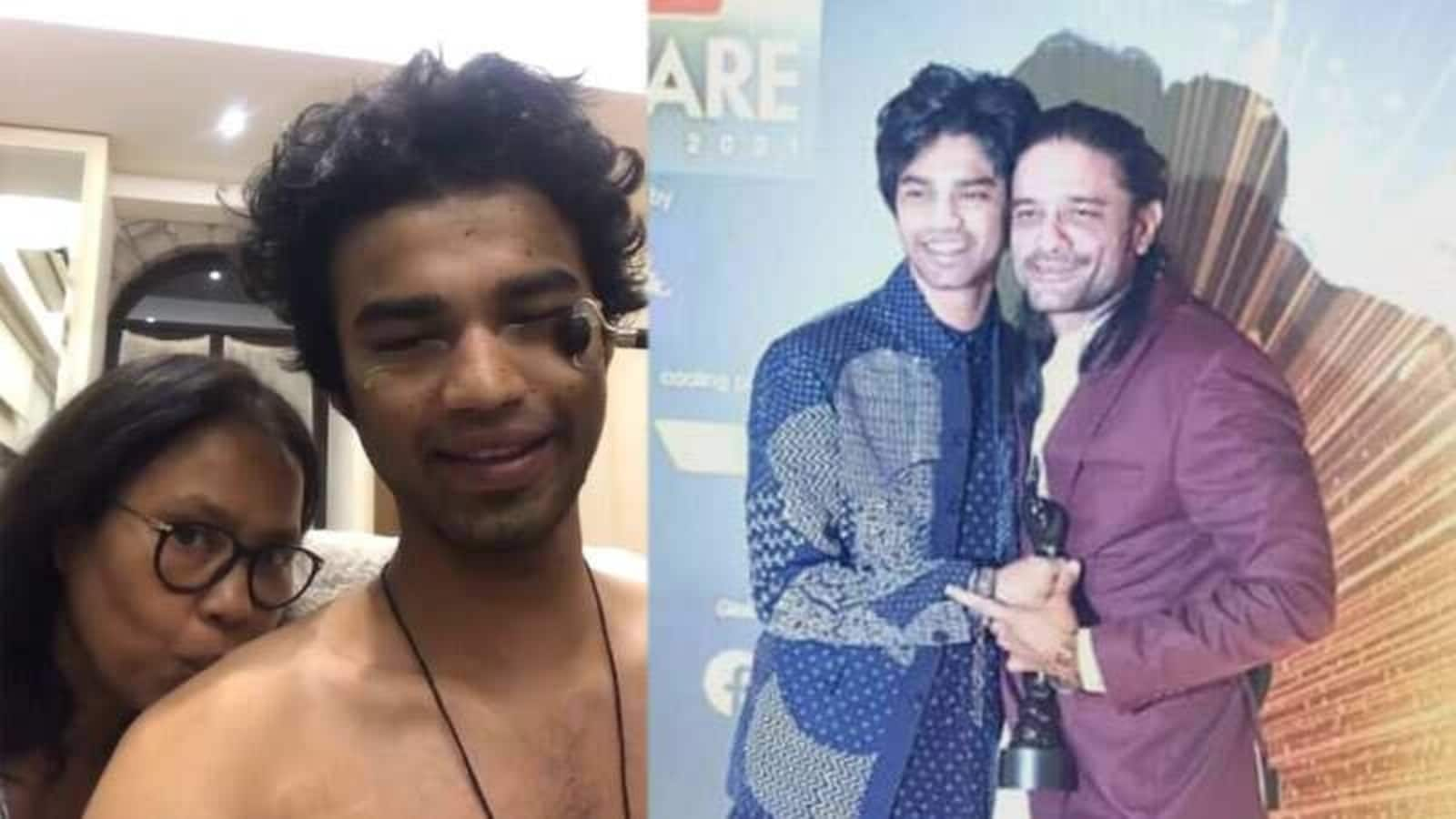 Irrfan's son Babil, who was high at the awards event, was asked: 'I'll use that look and make millions in Bollywood'