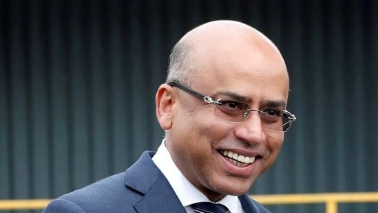 Liberty Steel's Sanjeev Gupta outside the company's processing mill in Dalzell, Scotland.(REUTERS / File)