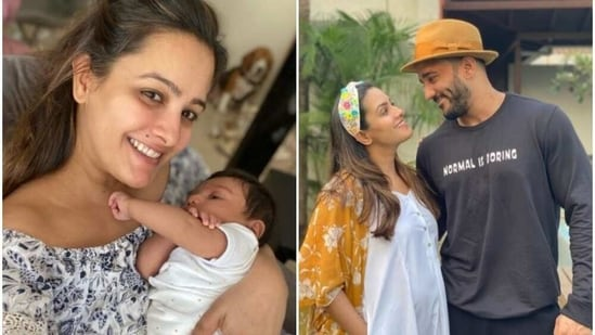 Anita Hassanandani and Rohit Reddy welcomed their son Aaravv last month.