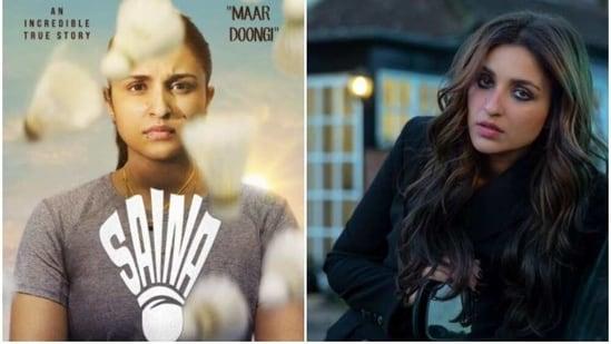 Parineeti Chopra in Saina and The Girl On The Train.