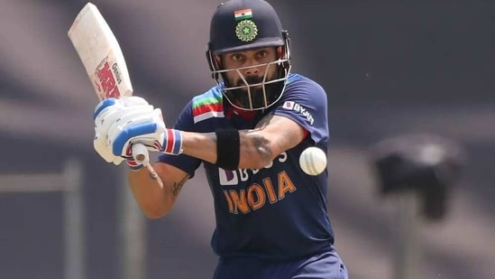 Virat Kohli in action. (BCCI)