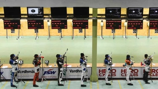 Indian shooters have topped the medal tally. at ISSF World Cup