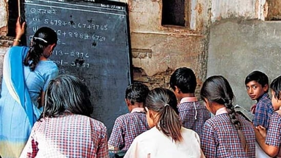 Action against accused teachers was taken after a protest march by villagers against the school.(Getty Images/Representational)
