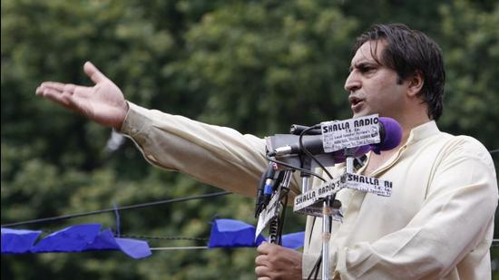 People's Conference chief Sajjad Lone. (REUTERS)