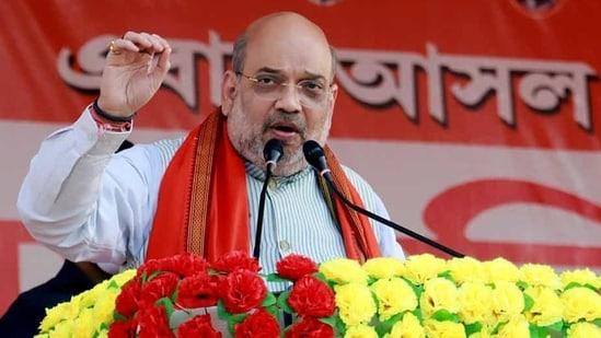 Union Home Minister Amit Shah. (ANI PHOTO.)