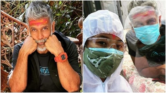 Milind Soman shares how he is recovering from Covid(Instagram/milindrunnig)