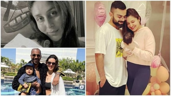 Celeb couples became proud parents and celebrated first Holi with their newborn.
