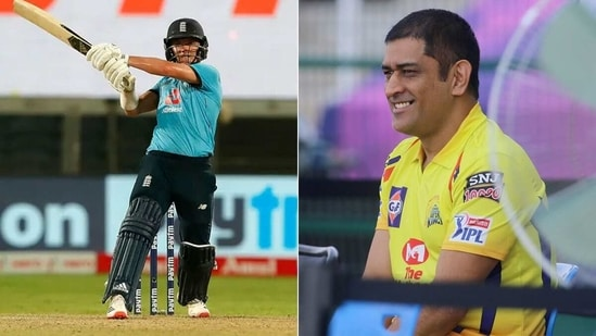 Sam Curran and MS Dhoni will reunite to play for CSK in IPL 2021. (BCCI)