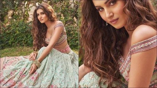 Tara Sutaria sizzles ethnic fashion this Holi in <span class='webrupee'>₹</span>6 lakh Chickankari lehenga(Instagram/tarasutaria)