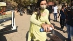 Gauahar Khan spotted two weeks after an FIR was filed against her by the BMC.(Varinder Chawla)