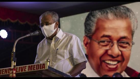Communist Party of India (Marxist) leader and Kerala chief minister Pinarayi Vijayan. (AP)