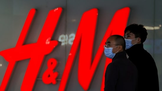 The stocks jumped after Chinese social-media users last week called for a boycott of Swedish retailer Hennes & Mauritz AB. (AP Photo/Ng Han Guan)(AP)