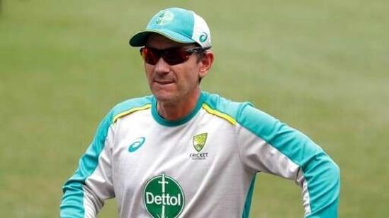 Australia's head coach Justin Langer