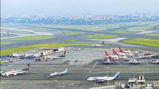 Chhatrapati Shivaji International Airport in Mumbai. (HT Archive)