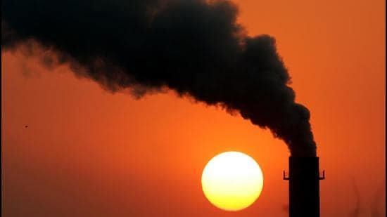 Smoke billows from a power station in New Delhi. (File photo)