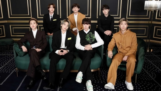 BTS members issue a joint statement condemning the anti-Asian violence. (Big Hit Entertainment)