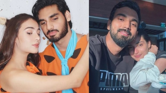 Ahan Shetty shares unseen pics with girlfriend Tania Shroff on her birthday. Athiya Shetty and KL Rahul pen wishes.