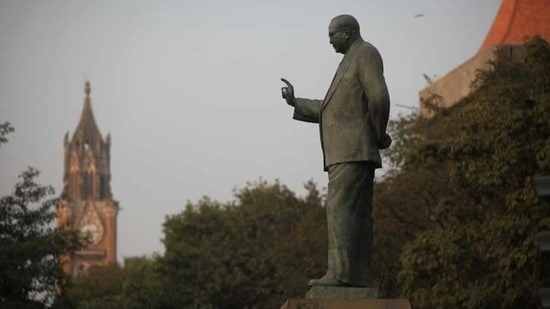 The SDM and police officials pacified the protesters, assuring that a new statue of BR Ambedkar would be installed at the earliest. (Hindustan Times)