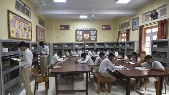 The Delhi cabinet approved the Delhi Board of School Education (DBSE) on March 6.(HT Photo)