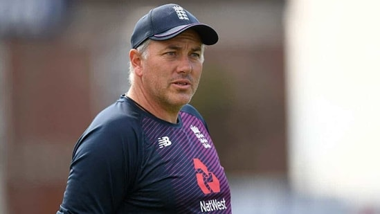 Chris Silverwood, England's head coach.(Getty Images)