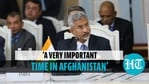 Jaishankar said peace would only be achieved if there was understanding in and around Afghanistan