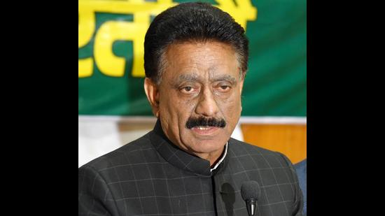 State Congress chief Kuldeep Singh Rathore said while the Congress government carried out development in the state, the BJP has ruined what was built over the years. (HT File)