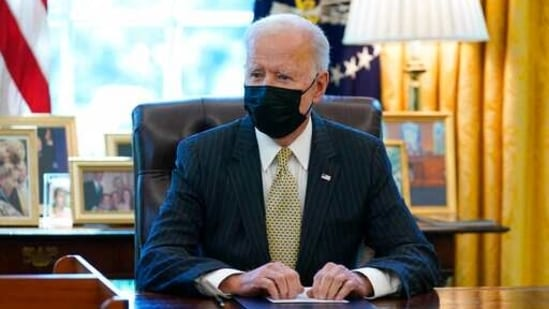President Joe Biden's overall infrastructure plan charts a dramatic shift in the direction of the US economy.(AP)