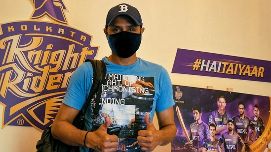 Harbhajan Singh joins KKR squad(KKR)