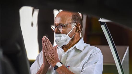 NCP chief Sharad Pawar. (File photo)