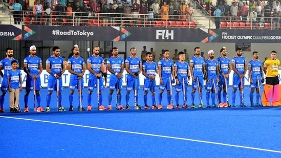File Photo of Indian Men's Hockey Team(Twitter)