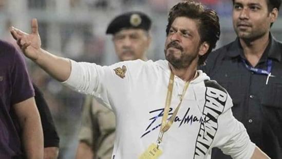 Co-owner of Kolkata Knight Riders' and Bollywood actor Shah Rukh Khan(AP)